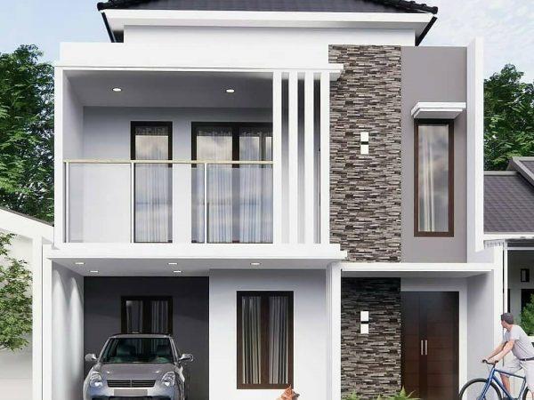 Rumah Mewah Modern Dua Lantai Griya Singkep Sakti, Bandar Lampung