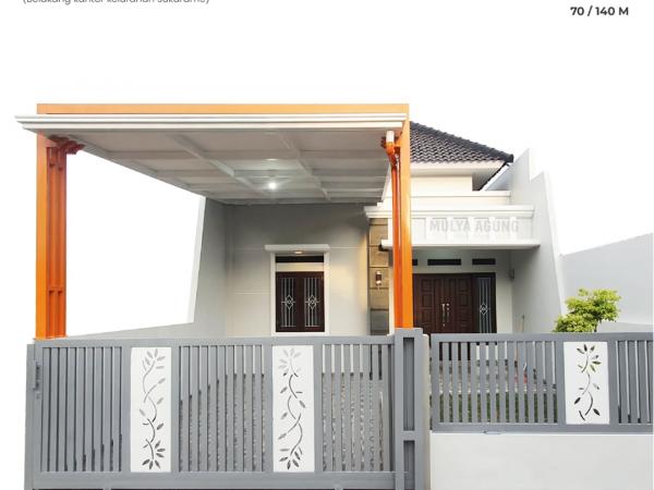 Rumah Bandar Lampung Minimalis Modern di Sukarame, Cluster BINTARA 10