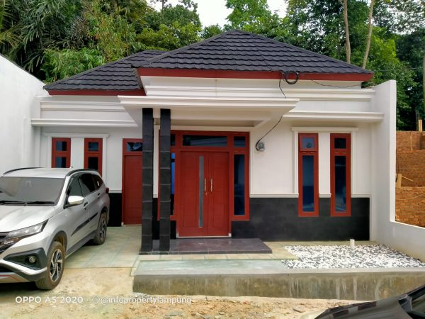 Rumah Minimalis Modern Rajabasa