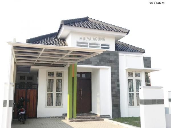 Rumah di Bandar Lampung Modern Minimalis, Cluster Bintara 11