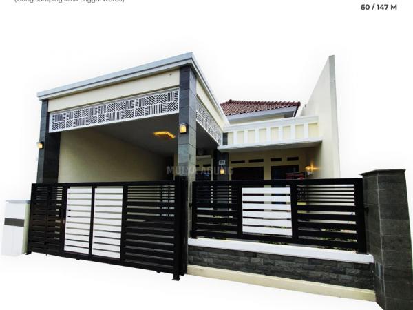 Rumah Modern Minimalis Cluster Bintara XII, Sukarame Bandar Lampung