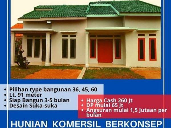 Rumah Murah Bandar Lampung, Kredit Syariah Tanpa Bank