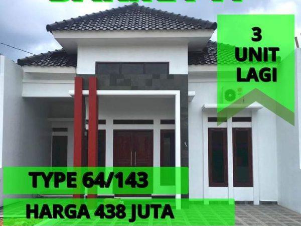 Rumah dijual di Sukarame Pulau Singkep, Bandar Lampung. Barika 6 Cluster