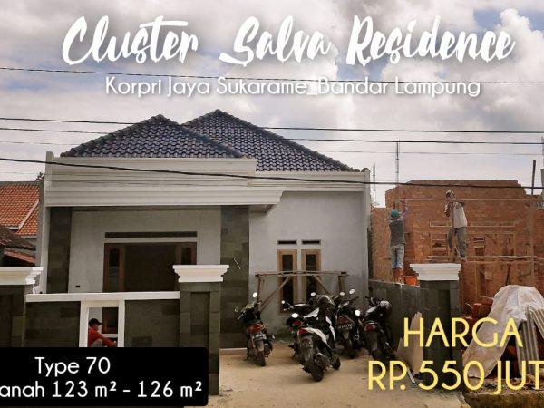Rumah dijual di Korpri Bandar Lampung, Dekat akses Tol Itera