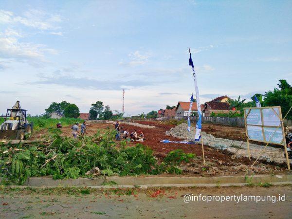 Tanah Kavling Murah di Rajabasa