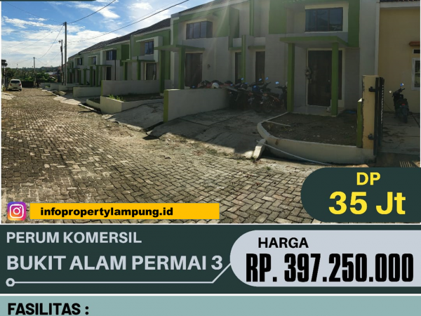 Rumah Minimalis Modern di Pramuka Bandar Lampung, Griya ANNISA BAP 3