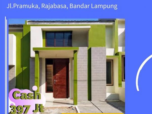 Rumah dijual di Pramuka Rajabasa, Bukit Alam Permai 3