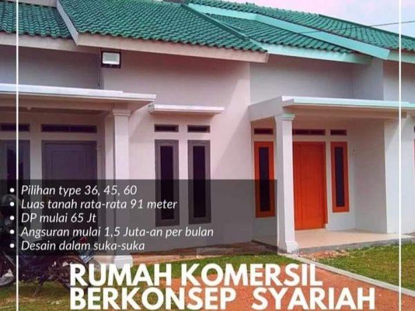 Rumah dijual di Rajabasa, Kredit Syariah Tanpa Bank