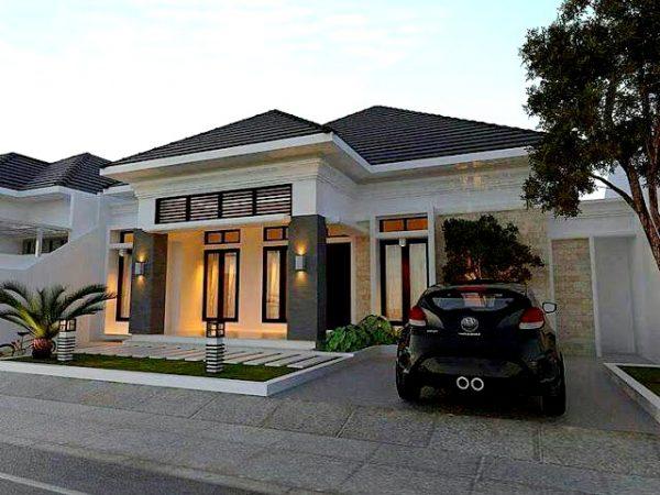 Rumah dijual di Sukarame Pulau Singkep, Lahan Luas Design Mewah